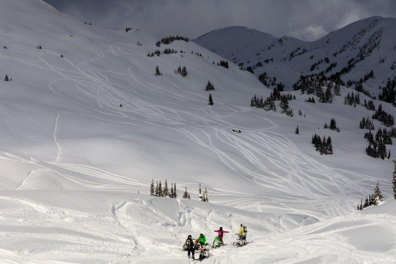 Golden Snowmobile Tours | Trail Tour | Rocky Mountain Adventures